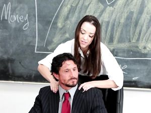 Big Teacher Cock Bangs The Sexy Teen Student Hardcore