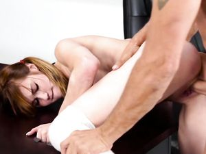 Slutty Schoolgirl Fucked Aggressively By Her Teacher