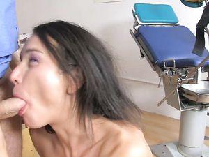 Skinny Teenager Masturbates During Big Cock Anal Fucking