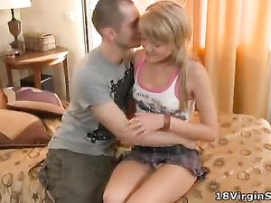 His Seduction Techniques Work On A Cute Teen Girl