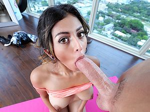 Yoga Makes Her Flexible For Fuck Scenes Like This