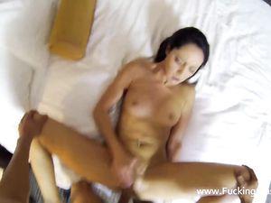 Lingerie Foreplay Before Hardcore POV Sex