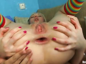 Lots Of Anal Sex For A Sweet And Petite Teen