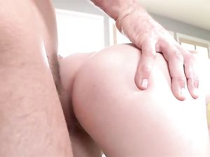 Big Dick Satisfies The Slut And Cums On Her Face