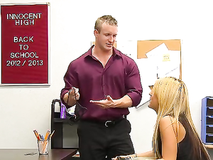 Student Earns Her Grades By Fucking Her Teacher