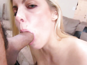 Big Blue Eyed Teen Loves His Completely Erect Rod