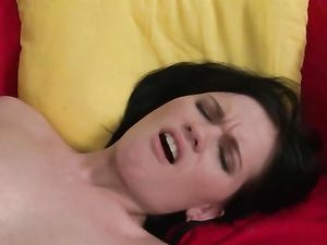 Hole Stretching Strapon Sex With Cute Lesbian Chicks