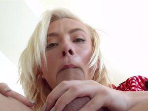 Messy Facial For A Pretty Blonde Princess