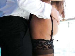 Latina Milf Seductress Makes Her Man Cum Hard