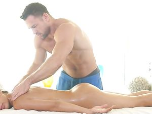Massage Foreplay Drives A Couple Wild For Hot Sex