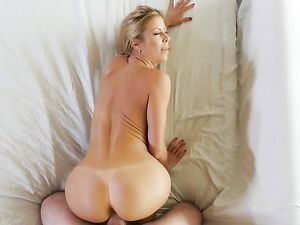 Stockings And Garter Belt On A Fuckable Blonde Milf