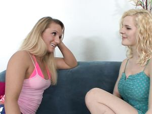 Cali Carter Licking And Fingering Lesbian Catie Parker