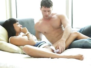 Eating Anissa Kate And Fucking A Big Cock Into Her