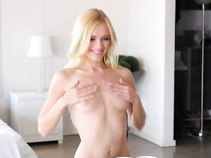 Holiday Hardcore With The Hottest Blonde Chick