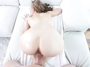 Beautiful Blonde Needs Big Dick To Fill Her Snatch