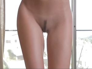 Teen With A Tight Ass Is In Love With Big Cock