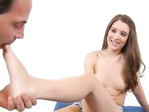 Girl Next Door Gives A Beautiful Blowjob