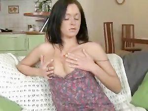 Puffy Nipples Teen Fucked In Sexy Tan Stockings