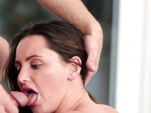 Teen Hope Howell Gets Both Her Horny Holes Fucked Hard By Two Guys
