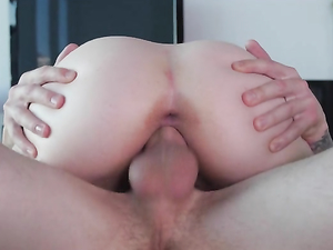Blonde Cutie Is All Wet And Horny For Big Cock
